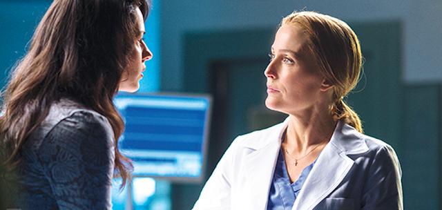Scully şi un personaj nou: The X-Files (Ianuarie 2016)
