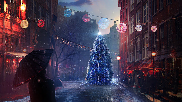 merry christmas images hd wallpaper