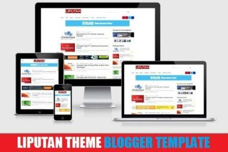Liputan Theme V1 Blogger Template Mobile Friendly 2017