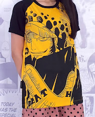 Kaos Anime Trafalgar Law Full Print