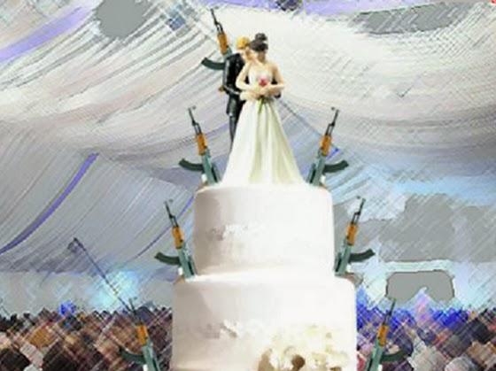 A si se casan los Narcos, Crónica de la boda del siglo, No sabíamos en que boda ni con quien nos metíamos!