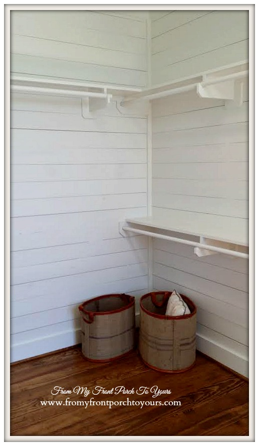 Texas Farmhouse Planked Closet-RoundTop Texas-Trendmaker Homes-From My Front Porch To Yours