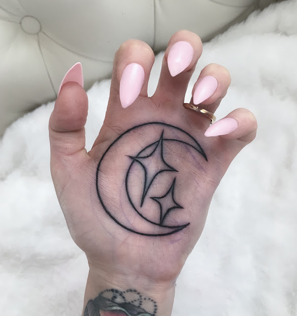 Moon and Star Tattoos