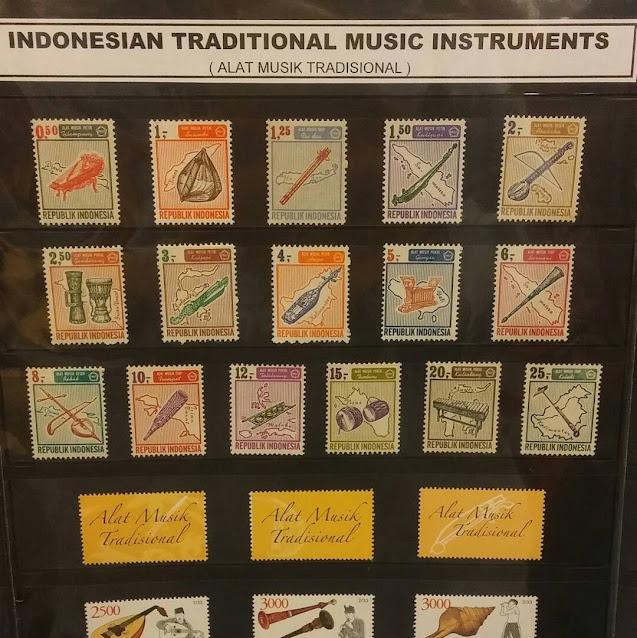 koleksi perangko