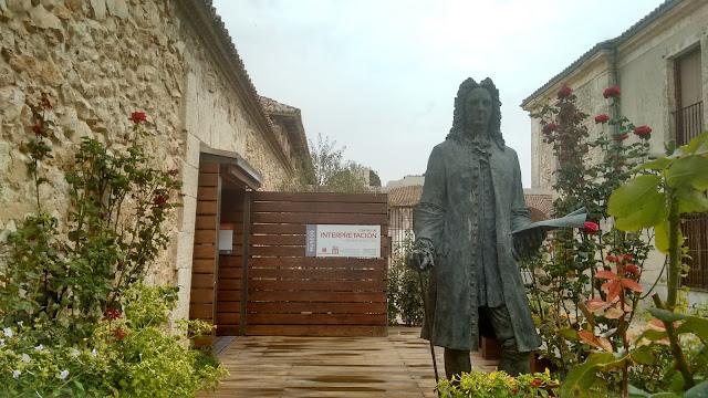 Nuevo Baztán. Estatua Juan de Goyeneche