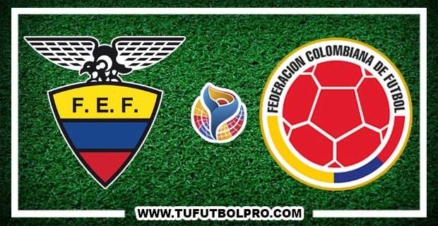 Ver Ecuador vs ColombiaEN VIVO Por Internet Hoy 8 de Febrero 2017