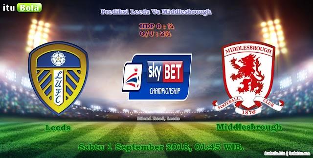 Prediksi Leeds Vs Middlesbrough - ituBola