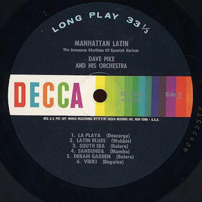 Dave Pike - Manhattan Latin (1964 2004 USA)