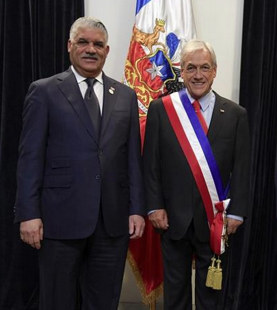 Chile designa nuevo embajador en República Dominicana