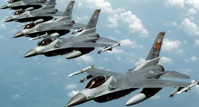 5 naf fighter jets bombards boko haram camps sambisa forest