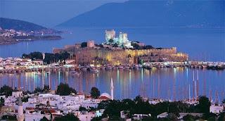 Bodrum is the dream location of Aegean Coastline