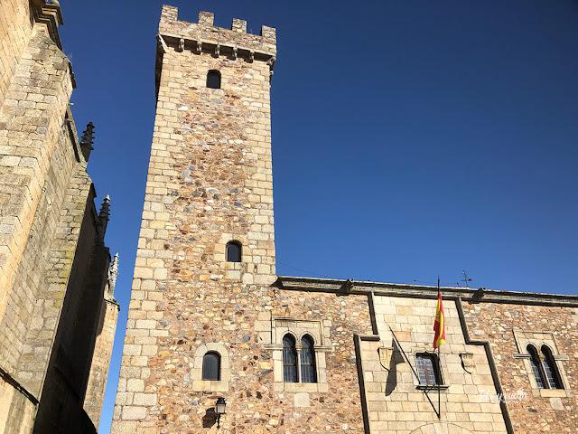 Torre de las Cigüeñas, Cáceres