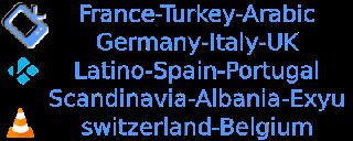 Germany USA Turkey World Mix Free M3U VLC