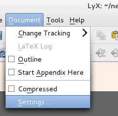 Getting Started with Docbook using Lyx