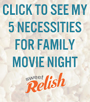 5 family movie night neccessities