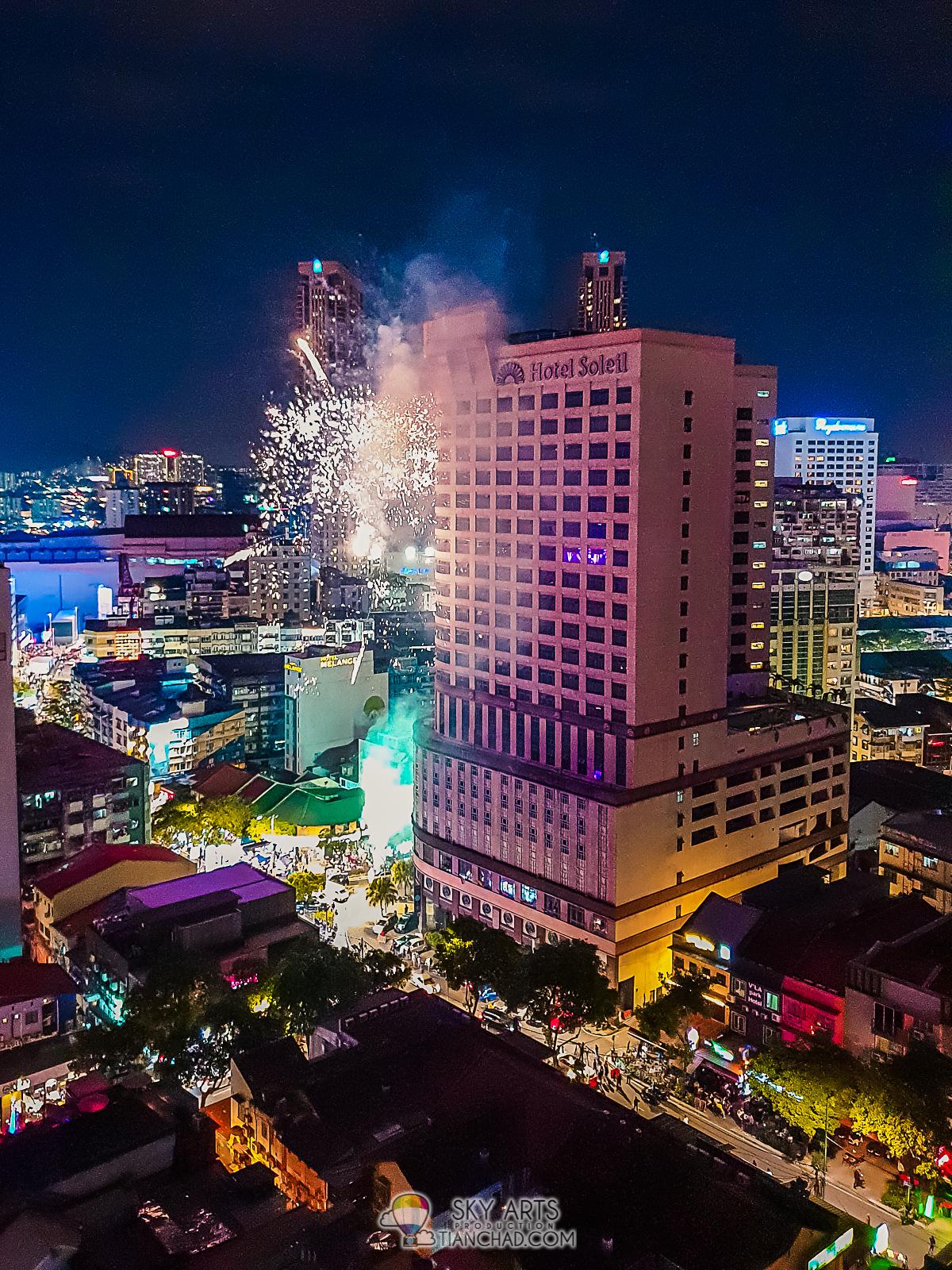 19d618e868d620 Fireworks on Aug 31st night celebrating Merdeka at Changkat Bukit Bintang