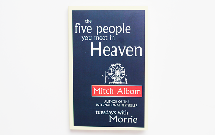 mitch alboms the five people you meet While the next person you meet in heaven has potential to do big business, the best-selling author says his reason for writing it is personal.