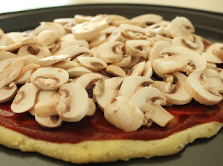 Delicious as it Looks: Care for some pizza with your mushrooms?