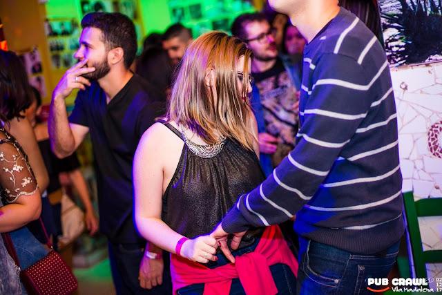 Diversidade musical no Pub Crawl São Paulo