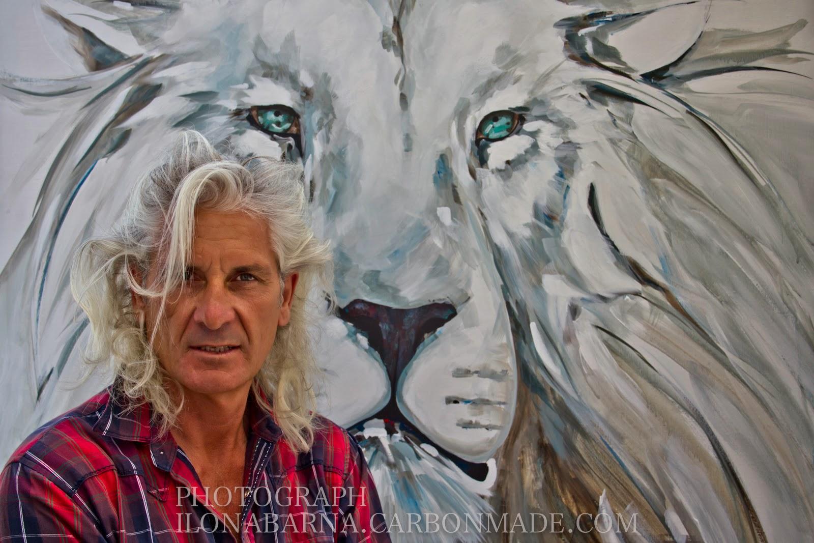 Artiste Peintre St Tropez ilona barna : ©ricco peintre st. tropezbiphoto