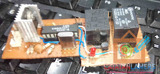 Rangkaian Remot Perangkat Elektronik menggunakan DTMF CM8870 Tanpa Microcontroller