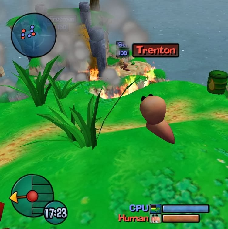 download game worms 3d pc full version