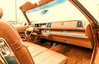 1975 Buick LeSabre Convertible Dashboard