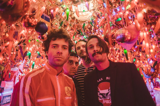 """""""Turn Into Blue"""" by The Technicolors - post punk blend swirling in the universe"""
