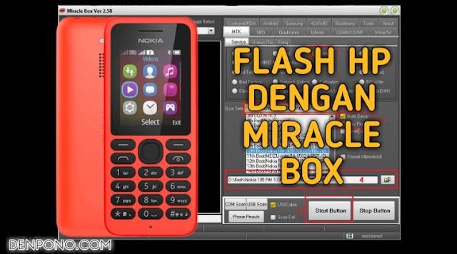 Cara Ampuh Memperbaiki Hp Nokia 130 RM 1035 Blink (Kedip-Kedip)