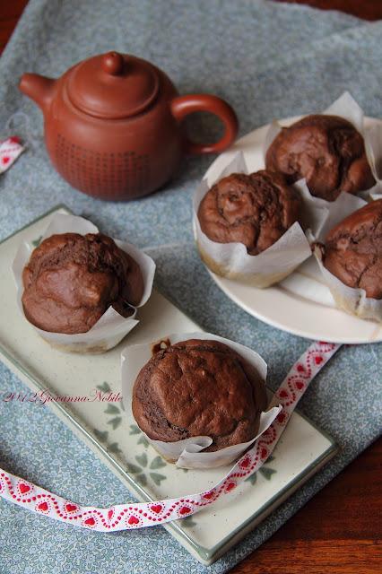 Muffin con i marrons glaces