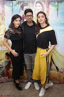 Anushka Sharma with Suraj Sharma and Mehrene Kaur Pirzada at Interview For movie Phillauri 5.JPG