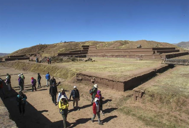 Mapping of ancient citadel shines new light on Bolivia's Tiwanaku civilization