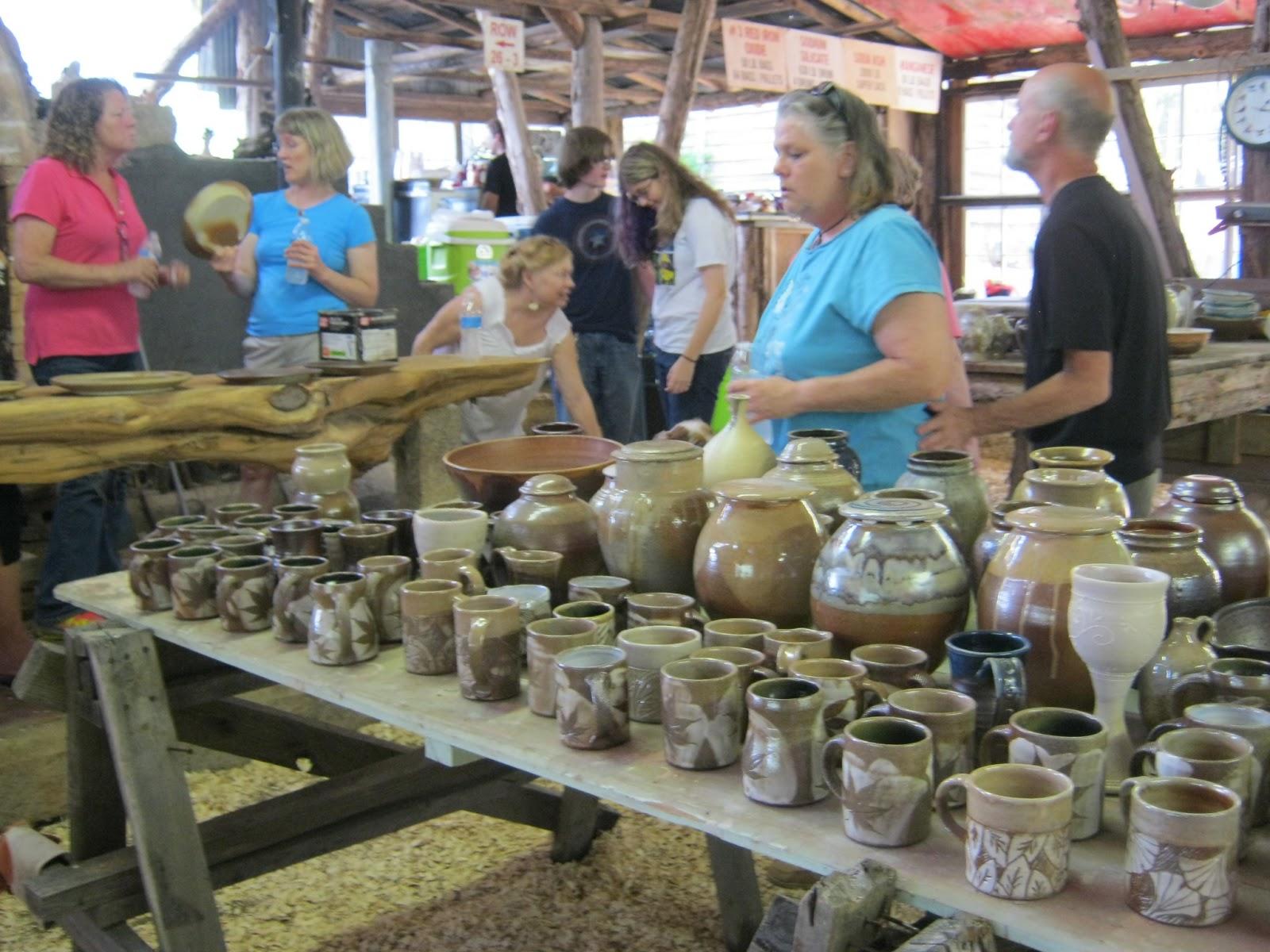 Meesh S Pottery Clay On Fire Kiln Unloading