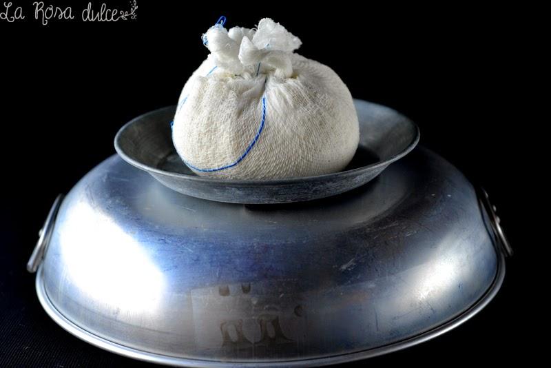 Requesón casero sin lactosa