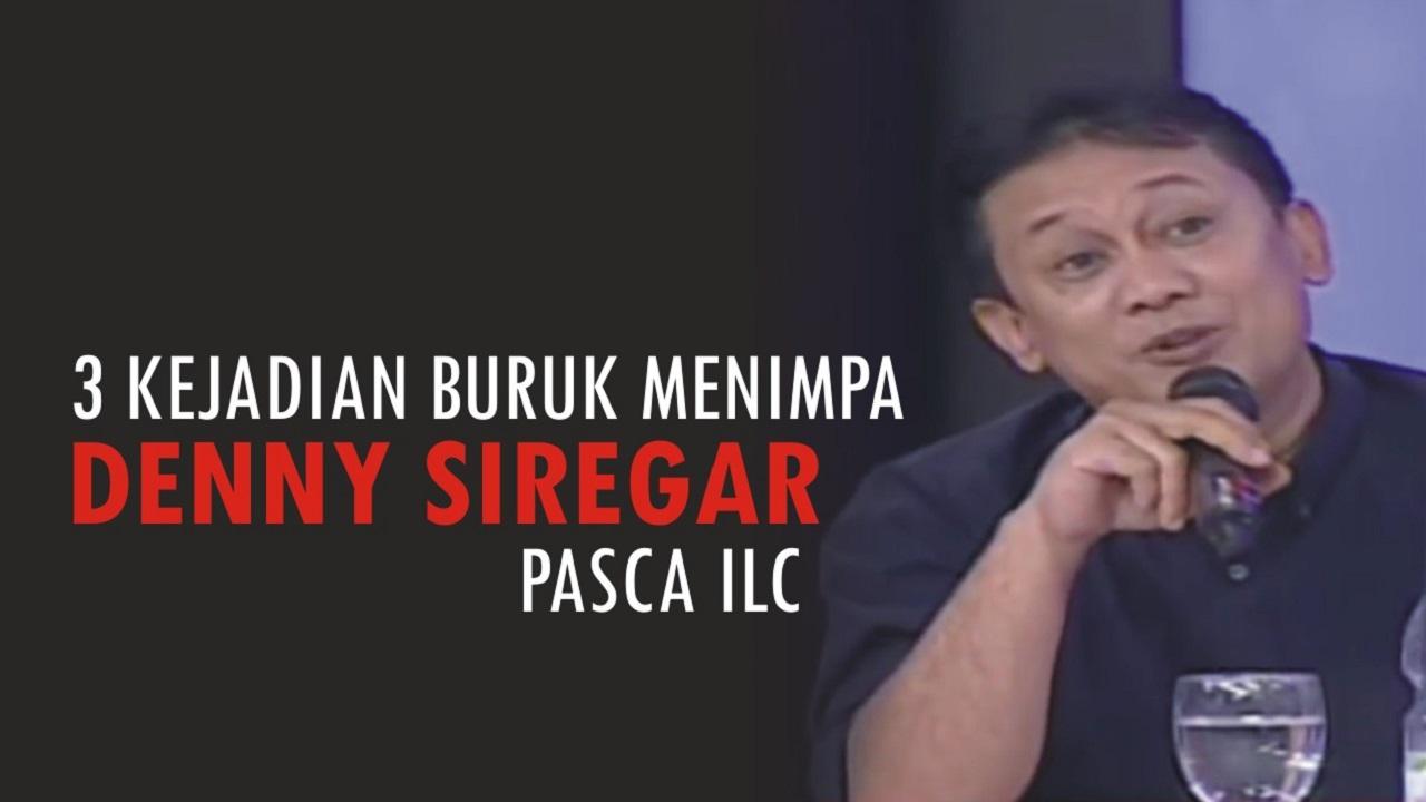3 kejadian buruk yang menimpa Denny Siregar