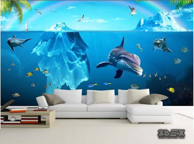 New 3D wallpaper for living room 3D wall murals