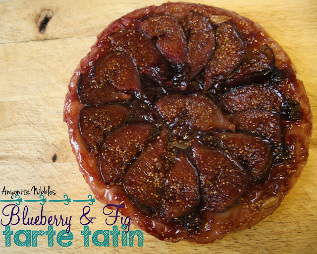 Blueberry & Fig Tarte Tatin from Anyonita Nibbles