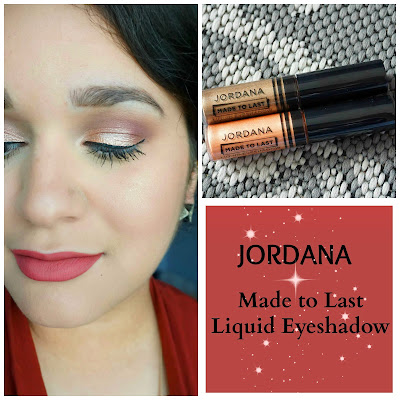 Jordana Made to Last Liquid Eyeshadows