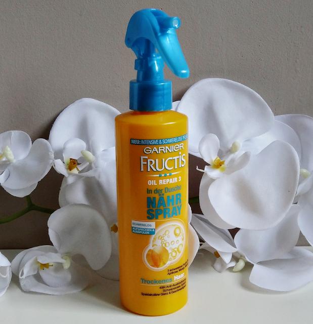Garnier Fructis, odżywka do włosów w sprayu Oil Repair 3