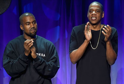 jay z and kanye west on fight feud
