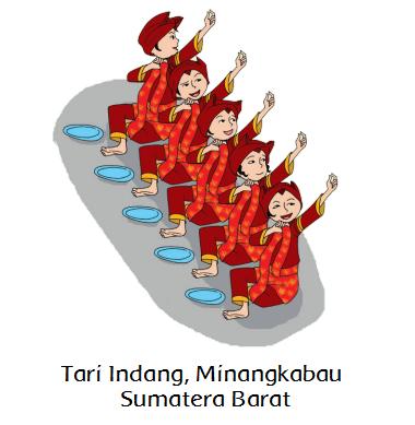 Setiap tari tradisional terdiri atas penari yang melaksanakan tarian secara perorangan Materi Sekolah |  Pola Lantai Tari Tradisional (Halaman 13)