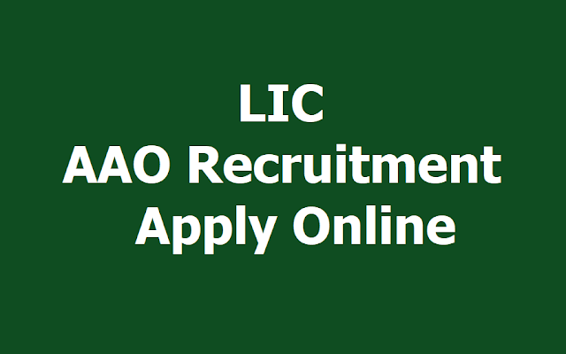 LIC AAO Assistant Administrative Officer Posts