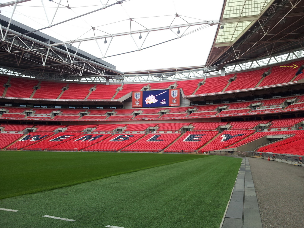 Wembley Stadium A Kiwi Birds Eye View Adventures Of A