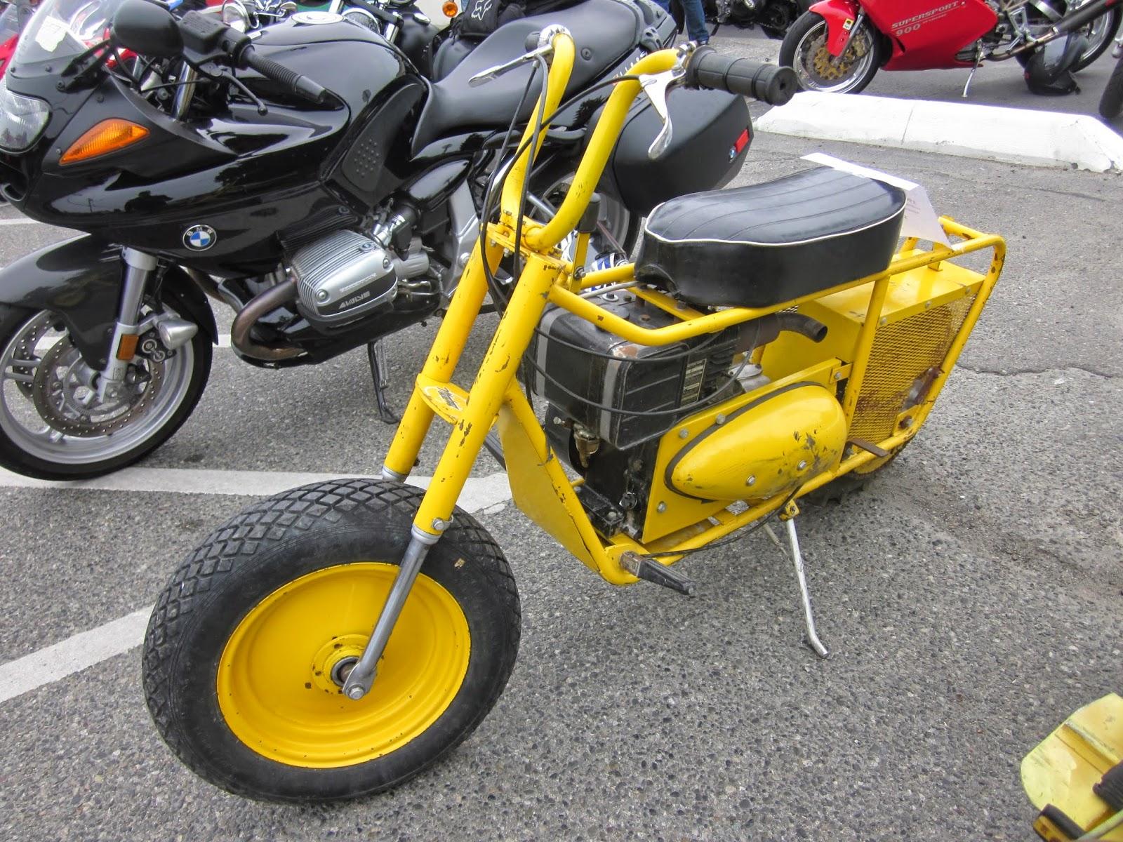 1963 Mustang Motorcycle