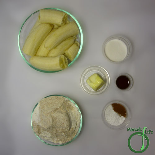 Morsels of Life - Roasted Banana Bread Step 1 - Gather all materials.