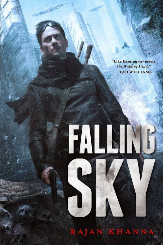 Guest Blog by Rajan Khanna, author of Falling Sky - November 5, 2014
