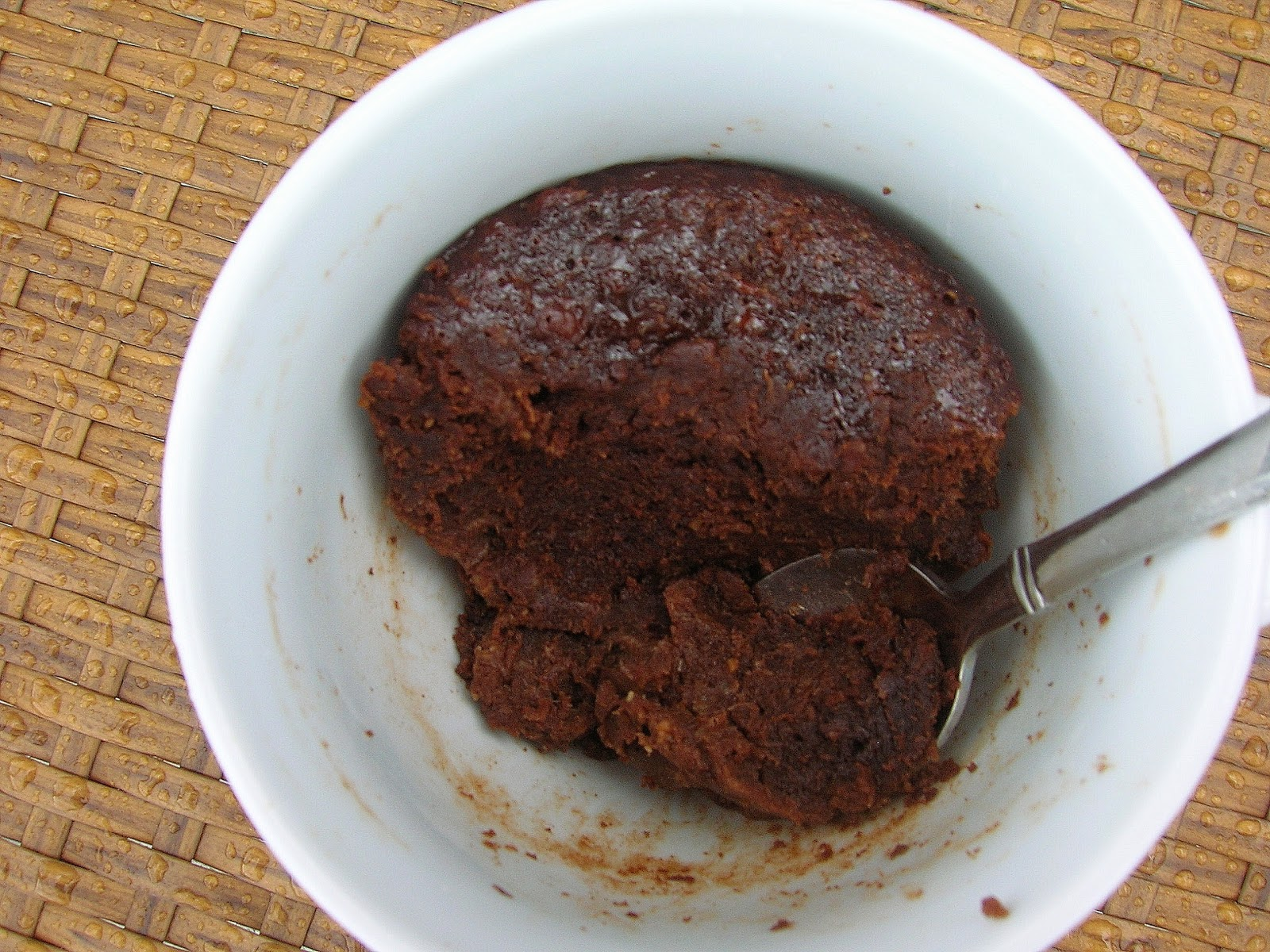 Gluten-Free Chocolate Microwave Cake