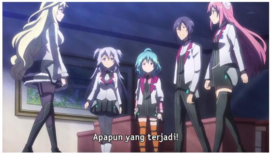 Download Anime Gakusen Toshi Asterisk Season 2 Episode 12 Subtitle Indonesia END