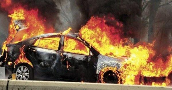 Τραγωδία με τρεις ανθρώπους που κάηκαν ζωντανοί σε τροχαίο στην Εγνατία