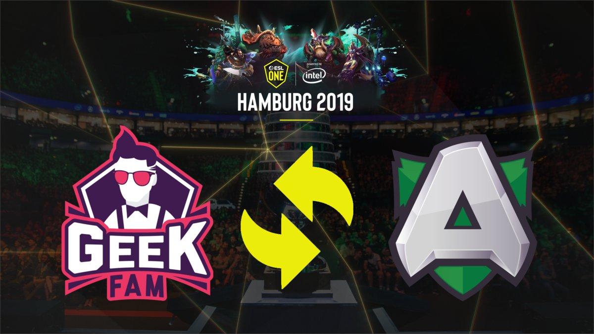 alliance replace - Geek Fam thất bại ở thử thách cuối cùng, bỏ lỡ tấm vé tham dự ESL One Hamburg